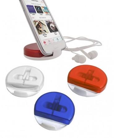 Auriculares - soporte de celular