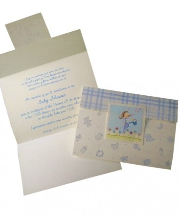 Tarjeta invitacion de Baby Shower