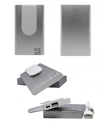 Power bank silver