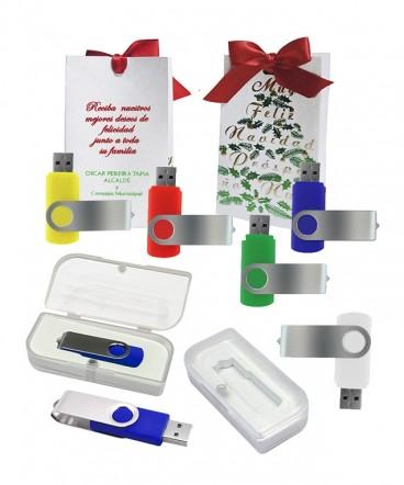Pendrive giratorio 8 GB regalo de Navidad