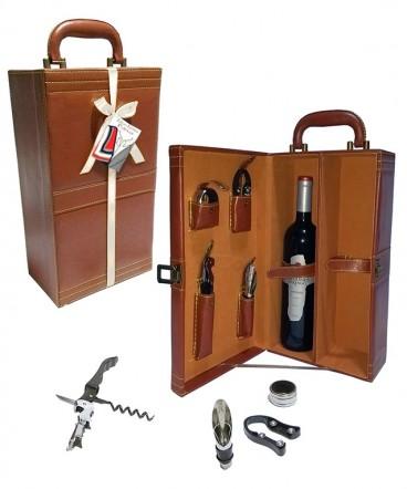 Maleta de vino regalo de fiestas patrias