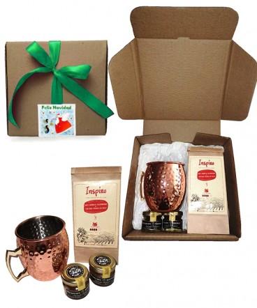 Set Mug café gourmet regalo de navidad