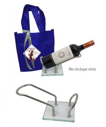 Porta botella regalo día del minero
