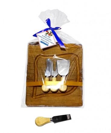 Tabla rustica de quesos regalo de fiestas patrias