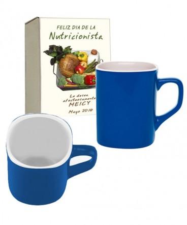 Taza cerámica regalo día de la nutricionista
