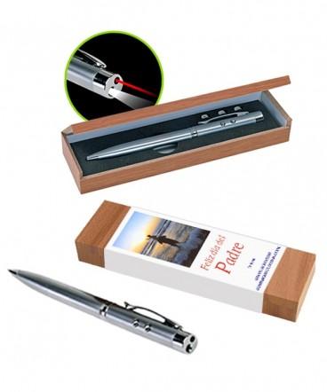 Bolígrafo metálico caja regalo día del padre