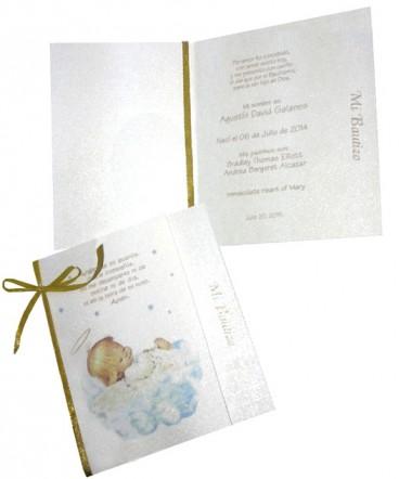 Santo tarjeta de Bautizo
