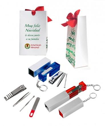 Llavero set manicure regalo de navidad