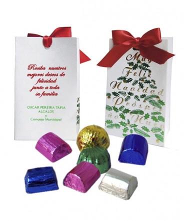 Bombón artesanal regalo de navidad