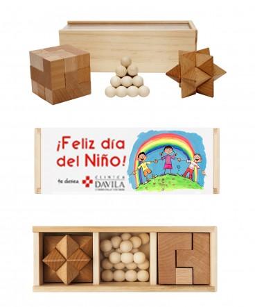 Juegos de madera regalo dia del niño