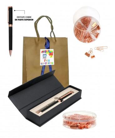 Set bolígrafo accesorios de escritorio regalo de cumpleaños
