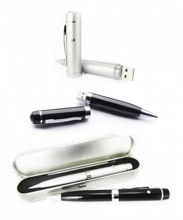 Multifuncional lápiz, pendrive, laser