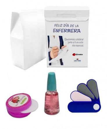 Kit para uñas regalo día de la enfermera