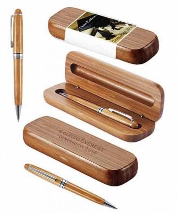 Bolígrafo ejecutivo de madera de Bamboo