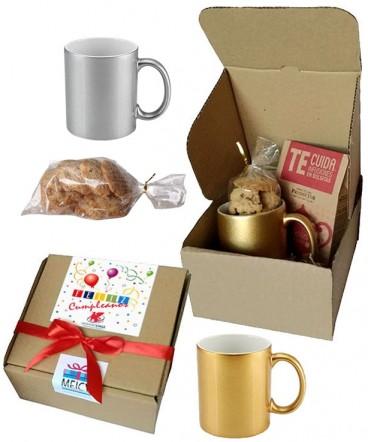 Set Tazón infusión galletas regalo de cumpleaños