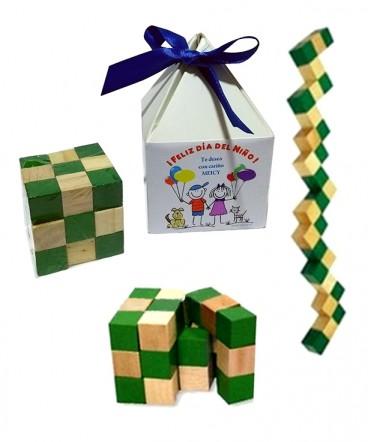 Cubo didactico regalo día del niño