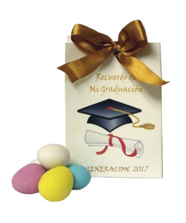 Bolso cinta recuerdo de Graduación