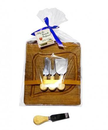 Tabla rustica de quesos regalo dia del profesor