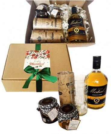 Set picoteo gourmet regalo de navidad
