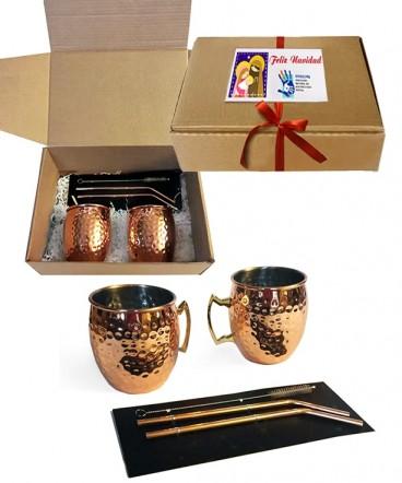 Set Mug cobrizados
